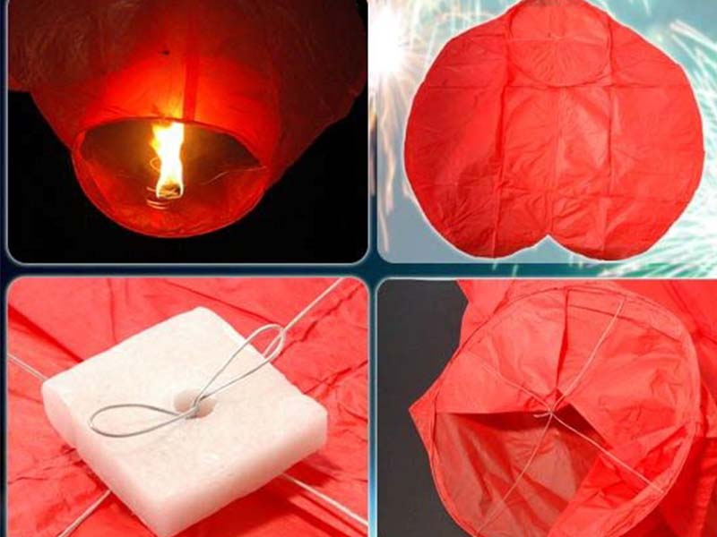 Как сделать небесный фонарик